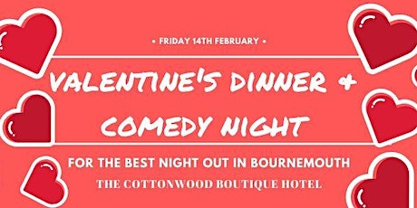 Valentine's Dinner & Comedy Night at The Cottonwood tickets
