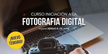 Curso de iniciación a la fotografía digital entradas