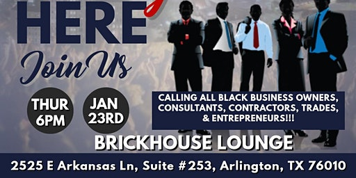 Arlington Black Chamber January General Meeting