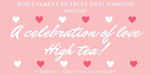 A Celebration of Love High Tea