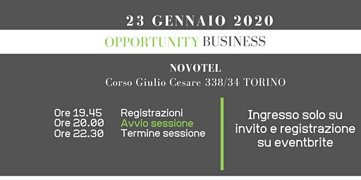 Opportunity Business Torino