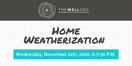 Home Maintenance Class: Home Weatherization tickets