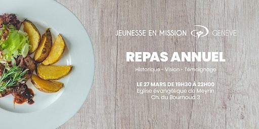 Repas annuel de JEM-Genève