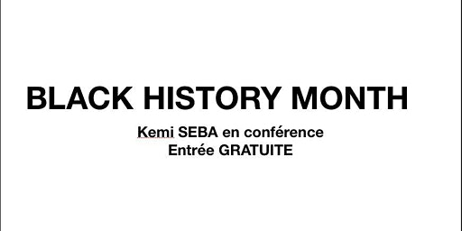 BLACK HISTORY MONTH - BELGIUM