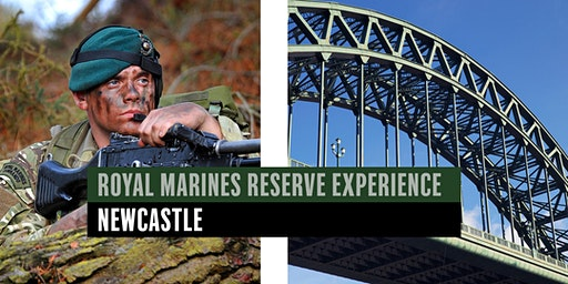 Royal Marines Reserve Experience event - Newcastle