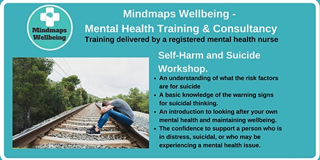 Self-Harm and Suicide Workshop tickets