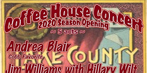 Coffee House Concert: Lake County Gala