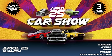 The Oasis Church Car Show tickets