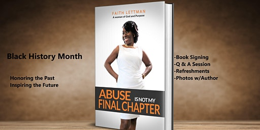 Black History Month Book Signing  With Q & A - Faith Lettman, Author