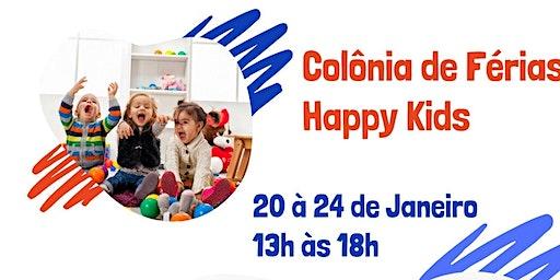 Colônia de Férias Happy Kids