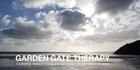 2 Day Individual or Couple Program: Garden Gate Therapeutic Self-Optimisation - April 2nd & 3rd 2020 tickets