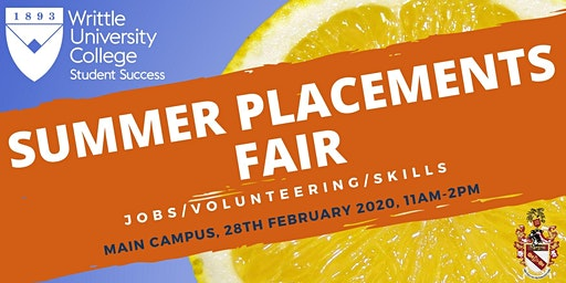 Summer Placements Fair