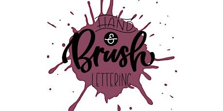 Hand- & Brushlettering Beginner Workshop Tickets