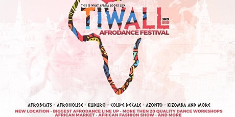 TiWall Afro Dance Festival 2020 Amsterdam - The Ultimate Afrodance Event tickets