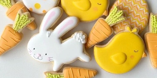 The Cookie Shop - Aula de Biscoitos Decorados - Módulo 1 Páscoa