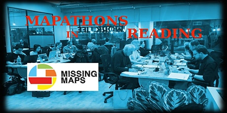 Missing Maps Reading March 2020 Mapathon tickets