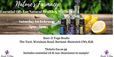 Nature's Farmacy - Essential Oils for Natural Health & Wellbeing tickets