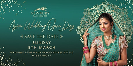 Asian Wedding Open Day at Newbury Racecourse tickets