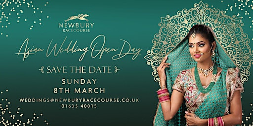 Asian Wedding Open Day at Newbury Racecourse