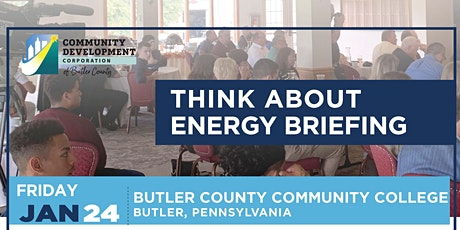 Think About Energy Briefing - Butler, January 24, 2020 tickets