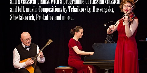 Russian Concert series From Russia with Love