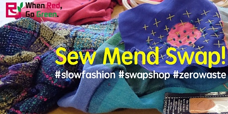 Sew, Mend and Swap tickets