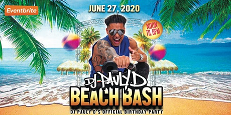 DJ Pauly D's Beach Bash 2020 tickets