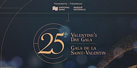 25e Gala de la St-Valentin | 25th Valentine's Day Gala tickets
