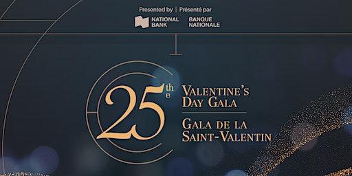 25e Gala de la St-Valentin | 25th Valentine's Day Gala