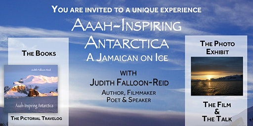 PHOTO EXHIBIT, BOOK LAUNCH & FILM - Aaah-inspiring Antarctica