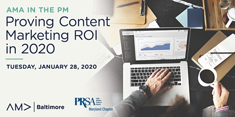 AMA in the PM: Proving Content Marketing ROI in 2020 tickets