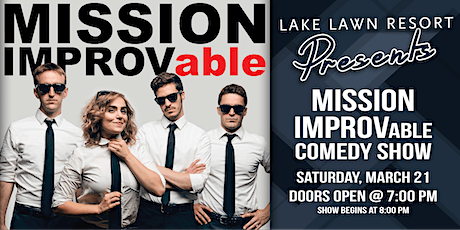 Mission IMPROVable Comedy Show tickets