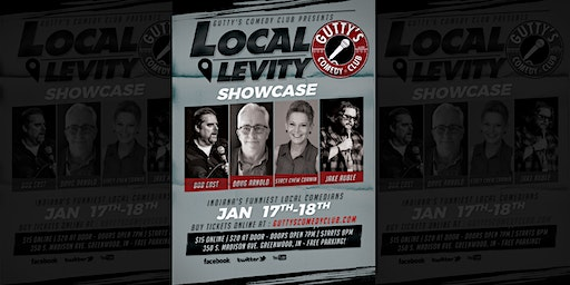 Gutty's Comedy Club: Local Levity