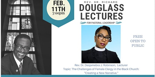 3rd Annual Douglass Lectures