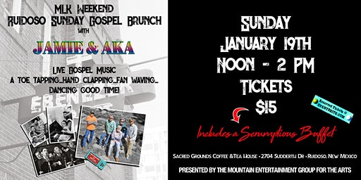 January 2020 Gospel Music Brunch and Concert with Jamie Estes and A.K.A.