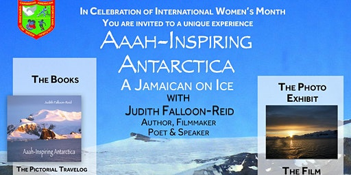 PHOTO EXHIBIT, BOOK LAUNCH & FILM - Aaah-Inspiring Antarctica (FREE EVENT)