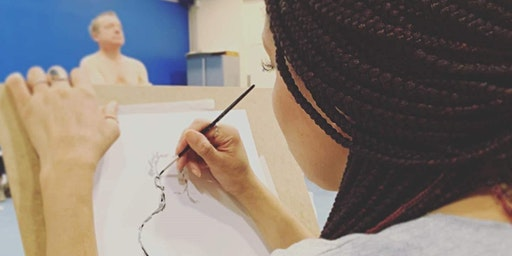 Saturday Life Drawing at Gallery Oldham: March