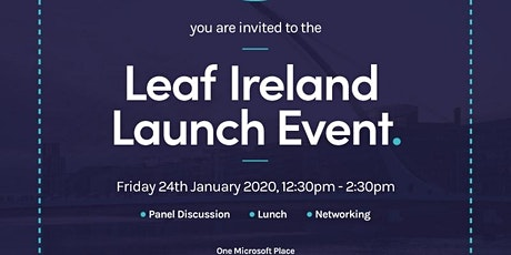 Leaf Ireland Launch Event tickets