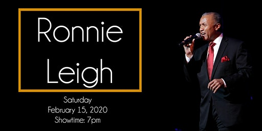 An Intimate Evening with Ronnie Leigh