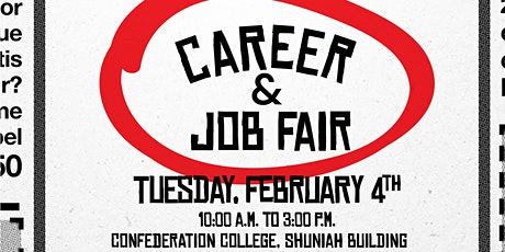 Confederation College Career & Job Fair tickets