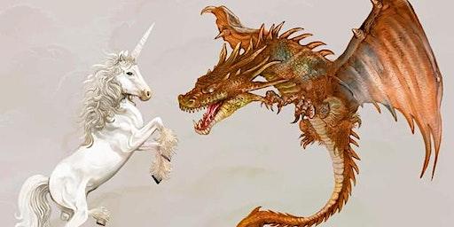 Unicorn and Dragon Hunt