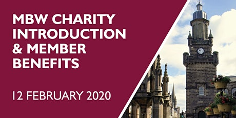 MBW Charity Introduction and Member Benefits tickets