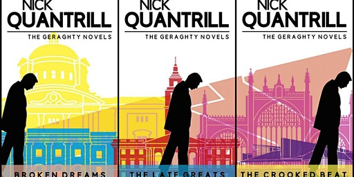Writers@... Author Night with Nick Quantrill