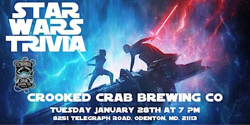 Star Wars Trivia at Crooked Crab Brewing Company