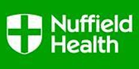 Nuffield Health Glasgow Hospital - Free CPD Event - Lower Limb Orthopaedics tickets