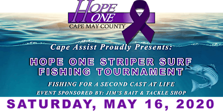 Hope One Striper Surf Fishing Tournament tickets