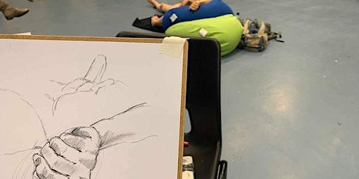 Life Drawing at Gallery Oldham: MAY