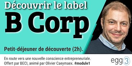 Découvrir le label B Corp tickets