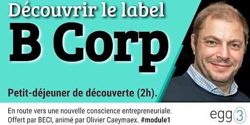 Découvrir le label B Corp