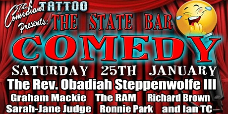 The State Bar Big Comedy Night tickets